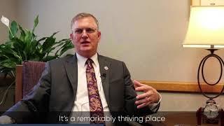 UNI President Mark Nook Shares Why he Came to Iowa - Iowa
