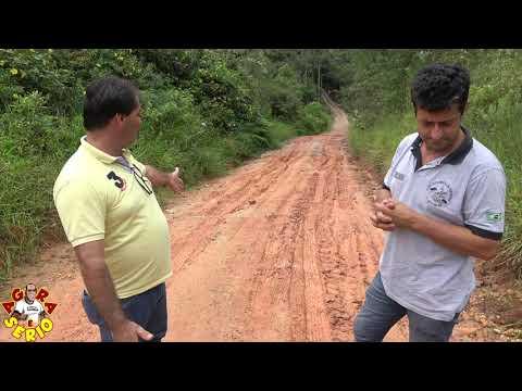 Chuvas Intensas derreteram a Estrada do João Leite