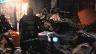 Resident Evil 6 - Gameplay Chris (Comic Con)