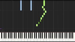 ДИМОООН на пианино [Sinthesia Piano]