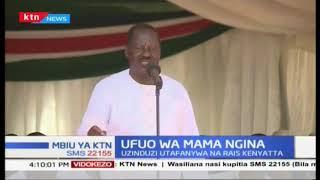Ufuo wa Mama Ngina kuzinduliwa na Rais Kenyatta  MBIU YA KTN