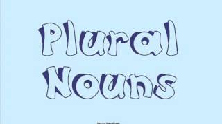 Plurals song