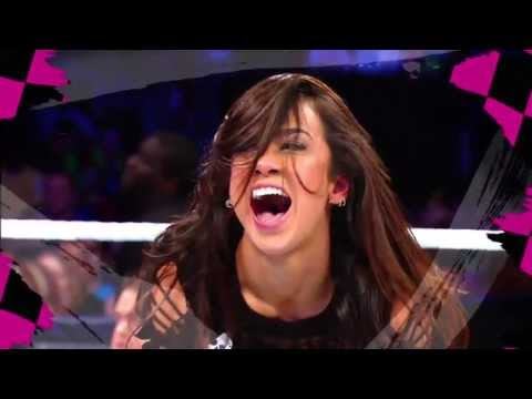 AJ Lee WWE Theme - Let's Light It Up