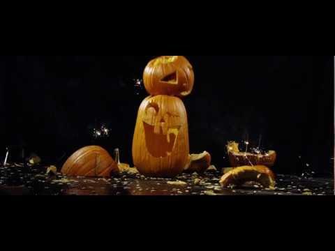 Smashing Pumpkins in slow motion - 1000 FPS | DEVINSUPERTRAMP