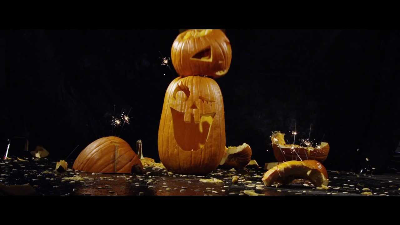 Watch Pumpkins Getting Smashed (And Unsmashed) In Slow Motion