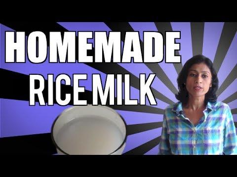 Πως να φτιάξετε σπιτικό γάλα ρυζιού και ποια τα πλεονεκτήματα του για την υγεία μας