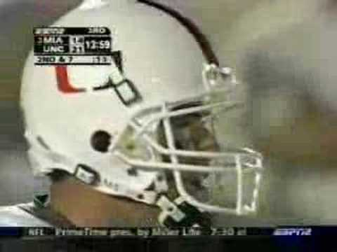 Video: 2004 UNC upsets Miami