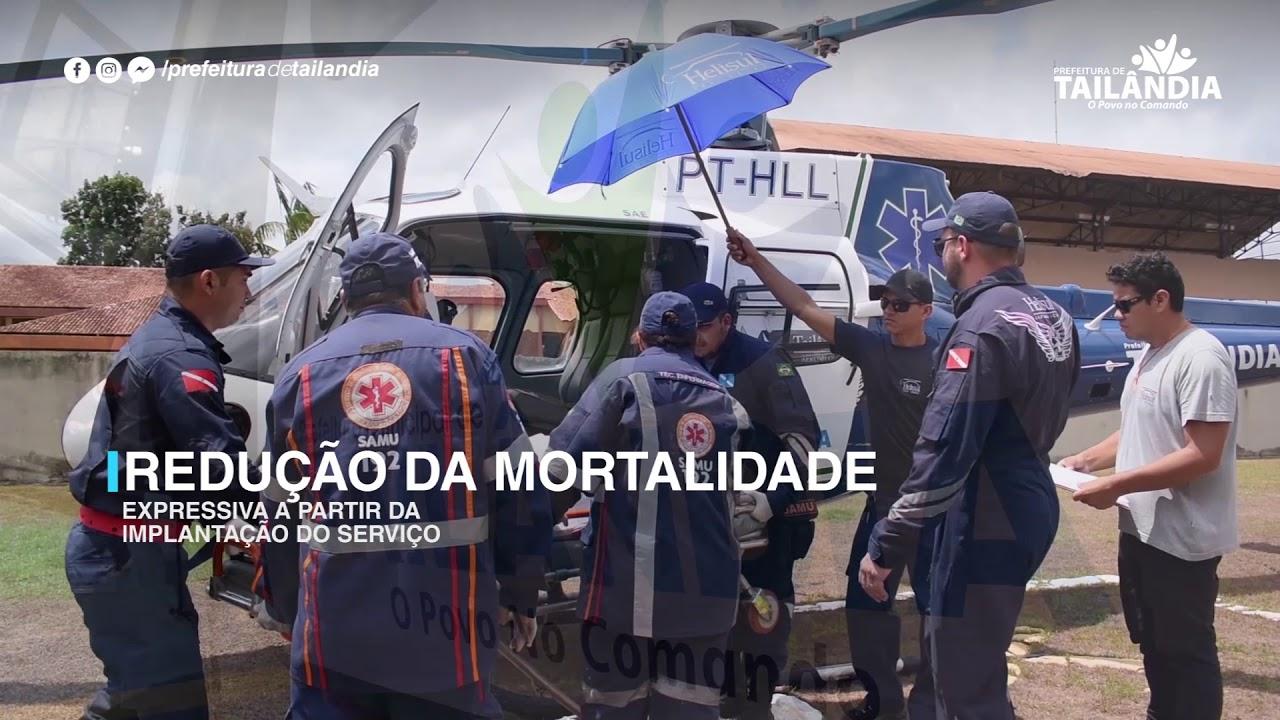 O Serviço de Aeromédico UTI está volta para Salvar Vidas – Prefeitura de Tailândia