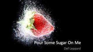 Def Leppard - Pour Some Sugar on Me UK Music Video - VIDEO