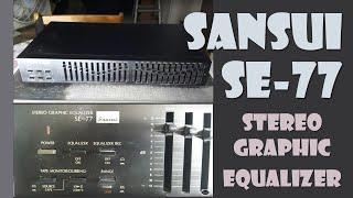 Sansui Stereo Graphic Equalizer Model SE-77