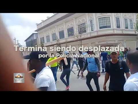 Director de la Policía quedó involucrado en intercambio de golpes en Colón
