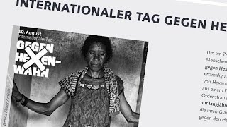 1. Internationaler Tag gegen Hexenwahn am 10. August 2020
