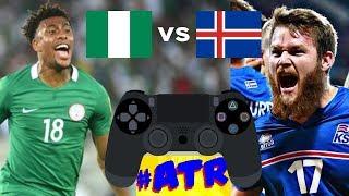 Nigeria v Islandia - Resumen simulación en Playstation - #ATRMundial