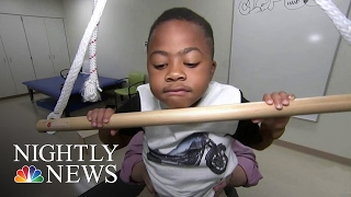 Inspiring America: Update On Zion, First Child With Double Hand Transplant | NBC Nightly News