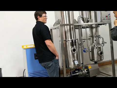 One of the necessary laboratory products:Falling film evaporator ethanol
