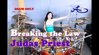 Judas Priest - Breaking The Law drum-only (cover by Ami Kim)(#59-2)