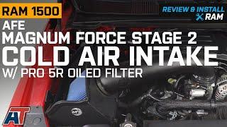 Oiled, 5-Layer Filter aFe Power Magnum FORCE 54-10381 Dodge RAM Trucks Performance Intake System