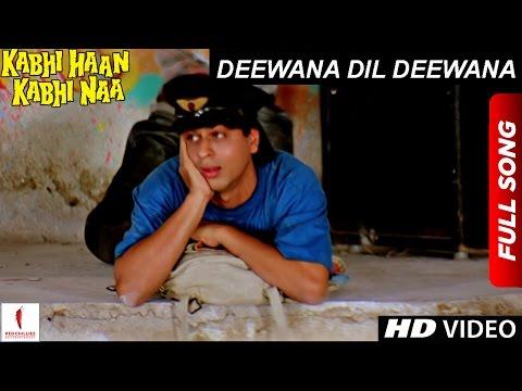 Deewana Dil Deewana | HD | Full Song| Kabhi Haan Kabhi Naa | Shah Rukh Khan, Suchitra Krishnamurthy