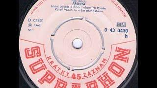 ARTISTA (J. Laufer a zbor) - 1968_Rip singel vinyl