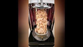 Küchenmaschine Test BOMANN Dönergrill DVG 3006 CB, 1400 W