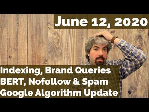 Atualização, indexação, marcas, BERT, Nofollow, spam e muito mais do algoritmo do Google 1