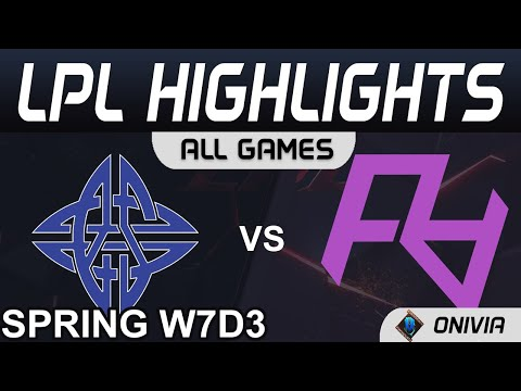 ES vs RA 王者小兵單傻Cube 2021 LPL春季賽Highlights