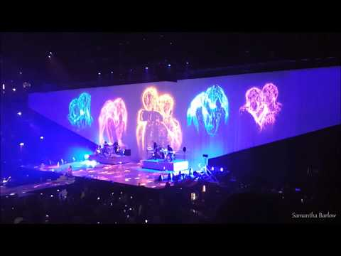 Ariana Grande - Thinking Bout You (HD) Manchester Dangerous Woman Tour 22.5.17 | Samantha Barlow