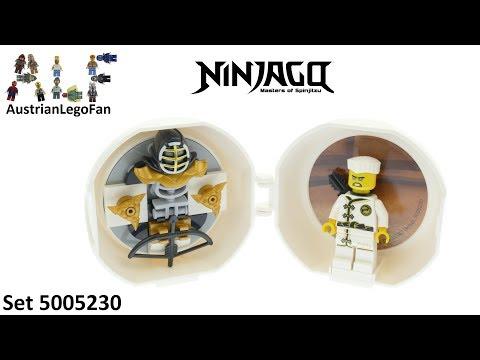 Vidéo LEGO Ninjago 5005230 : Capsule d'entraînement au kendo de Zane (Polybag)