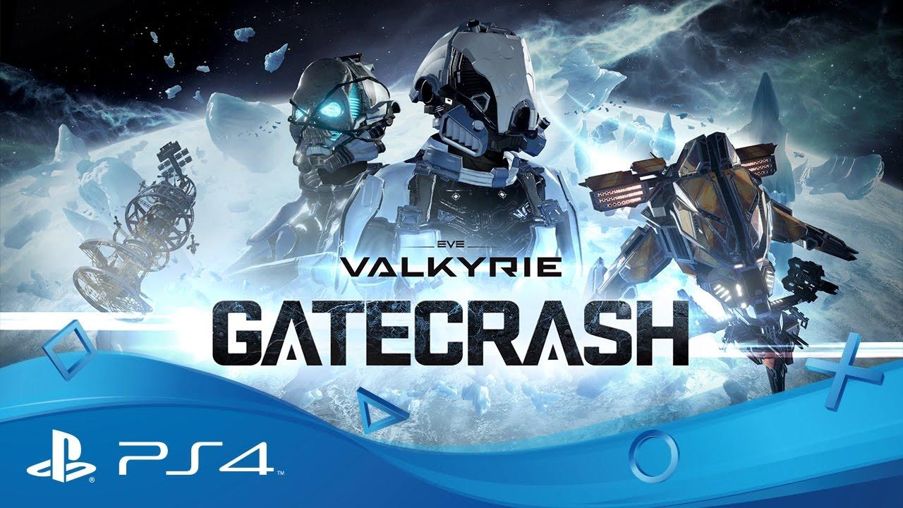 La mise à jour Gatecrash d'EVE: Valkyrie sur PlayStation VR : une nouvelle map et la compatibilité PS4 Pro ajoutées
