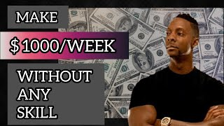 Earn $1000 per week Online Without Any Skill - Wesley Virgin