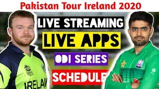 ||Pakistan Tour Ireland 2020||Pakistan Team New Series Vs Ireland Schedule||Live Streaming, Dates||