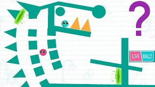 Love Balls - Gameplay walkthrough Part 14 - Level 351 - 366 and Daily Challenge ( iOS , Android )