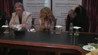 احيت الفنانة اللبنانية نوال الزغبي حفلا خيريا في دبي بمركز راشد لرعاية وعلاج الطفولة وذوي الاحتياجات الخاصة
