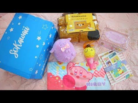 MỞ HỘP SOKAWAII TỪ NHẬT BẢN- đồ chơi nhật bản So Kawaii Box Unboxing! / Ami DIY