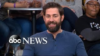 John Krasinski opens up about 'A Quiet Place' on 'GMA' - Video Youtube