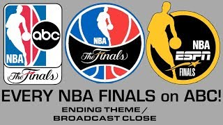 "Evolution of the epic ""NBA Finals on ABC"" ending/closing theme [EVERY YEAR: 2003–2019]"