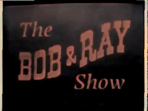 Bob and Ray Sketch Summer 1951 (colorized) Bob Elliot, Ray Goulding