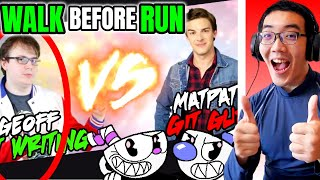 YOU BAD.. The Cuphead CONTROVERSY: Should Reviewers Git Gud? - DeadLock (ft. Mother's Basement)🆁🅴🅰🅲🆃