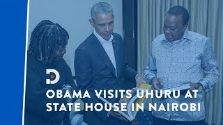 Former US President Barack Obama back in Kenya