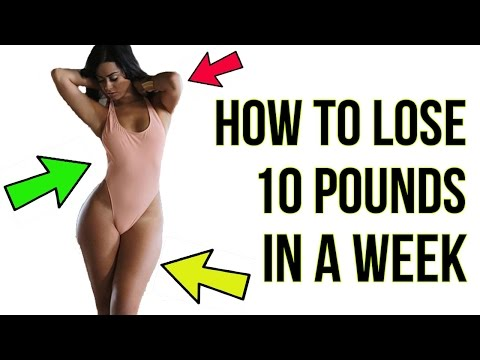 Video How To Lose 10 Pounds in A Week - EXTREMELY Simple!
