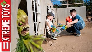 The Swamp Creature Emerges! Sneak Attack Squad VS Mutant Beast