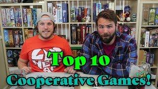Top 10 Cooperative Board Games!