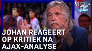 Johan reageert op kritiek na Ajax-analyse | VERONICA INSIDE