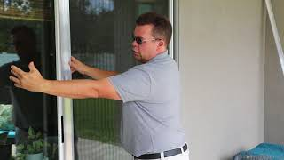 Installing Storm Stoppers on Over-sized Sliding Glass Doors | Hurricane Window Protection