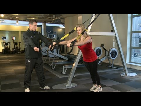 TRX Exercises- How to do a TRX Chest Press | David Lloyd Clubs