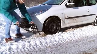 Snow Grip Reifenspray - Die Anfahrhilfe bei Eis und Schnee, 400 ml