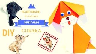 Оригами для начинающих. Как сделать СОБАЧКУ оригами из бумаги своими руками. Мастер класс! DIY dog!! - - - - - - - - - - - - - - - - - - - - - - - - - - - - - - - -  Подписывайся на мой канал https://goo.gl/sCxmA6  Я в twitter