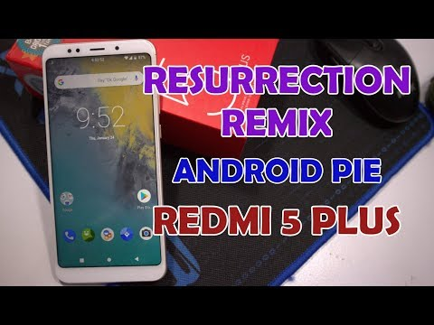 Redmi note 5 /redmi 5 plus Resurrection remix (oreo) rom - игровое