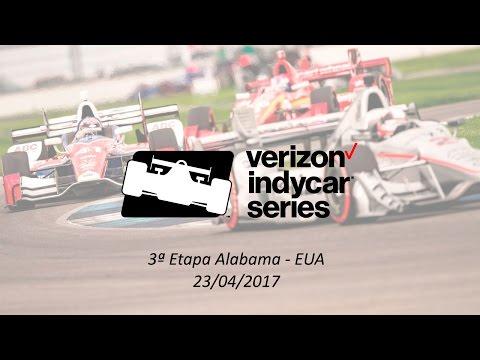 Indy Car Series 2017 3ª Etapa Alabama - EUA