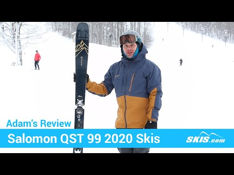Video: Salomon QST 99 Skis 2020 1 50